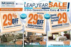 Morris Furniture 3/3/12 Furniture Ads, Discount Furniture, Home Furnishings, Advertising, Furniture, Commercial Music, Home Furniture