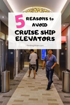 Do you avoid cruise ship elevators? In this post I share 5 reasons why you may want to avoid cruise ship elevators on your next cruise! Top Cruise, Best Cruise, Cruise Port, Cruise Travel, Cruise Vacation, Royal Caribbean Ships, Royal Caribbean Cruise, Cruise Excursions, Cruise Destinations