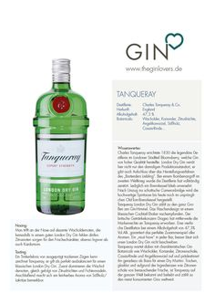 Tanqueray London Dry Gin / Gin Review