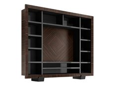 Solid wood TV wall system KALISPERA - Capital Collection by Atmosphera