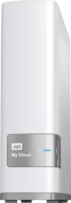 WD - My Cloud 8TB External Hard Drive (NAS) - White