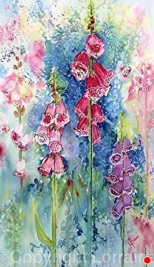 Watercolor Painting Techniques, Alcohol Ink Painting, Watercolor Artists, Watercolor Paintings, Watercolours, Watercolor Plants, Floral Watercolor, Watercolor Ideas, Autumn Painting