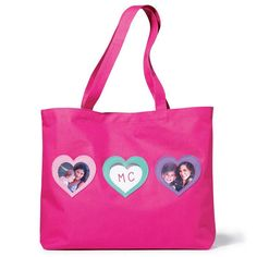 """Pretty and personalized! Easy hook-and-loop closure. 12"""" H x 15 1/2"""" W x 4 1/2"""" D. Ages 6 and up. Polyester. Imported.Shop now for Avon Valentine's Day gifts for girls at http://mbertsch.avonrepresentative.com #ValentinesGifts #ValentinesDay"""