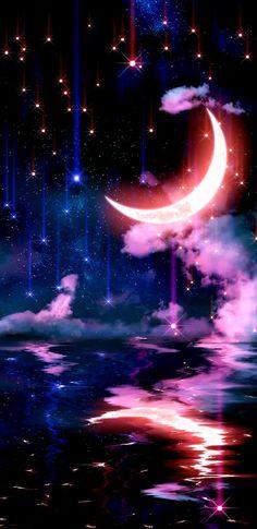Scenery Wallpaper, Nature Wallpaper, Sun Moon Stars, Lightning, Tattoo Ideas, Landscapes, Glow, Backgrounds, Wallpapers