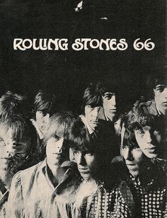 The Rolling Stones 1966 Tour Programme