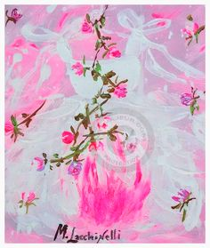Tutus Candy Rose 2015 di Marilena Lacchinelli Paintings § Italy - Opera acquisita dalla Fondazione Luciano Benetton