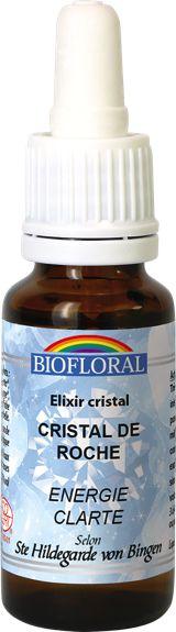 Elixir Minéral Cristal de Roche - Bio - Sentiers du bien-être