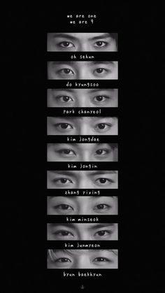 Kpop Exo, Exo Chanyeol, Kyungsoo, Exo For Life, Exo Stickers, Exo Songs, Exo Merch, Exo 12, Eyes Wallpaper