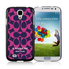 #FashionTime #WhatsInYourBorough Life Will Be Perfect With Coach Logo Monogram Purple Samsung Galaxy S4 9500 AUV! Come On!