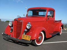 Ford : Other Pickups REG CAB SHORT BOX 1936 FORD P - http://www.legendaryfinds.com/ford-other-pickups-reg-cab-short-box-1936-ford-p/
