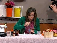 Como hacer jabones artesanales en forma de frutas - Duraznos