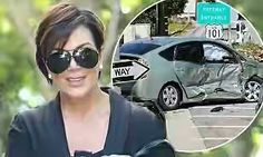 Kris Jenner's Road Accident Leaves The Other Driver Homeless