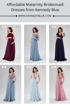 Kennedy Blue has affordable, stylish bridesmaid dresses in an assortment of styles and colors. Feel your best on your brides special day! Shop all maternity bridesmaid dresses on www.kennedyblue.com | Maternity Bridesmaid Dresses in Pink, Blue, Red, Black, and Navy | #maternitybridesmaiddresses | #bridesmaiddresses | Kennedy Blue Maternity Bridesmaid Dresses
