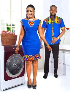 African fashion is available in a wide range of style and design. Whether it is men African fashion or women African fashion, you will notice. Couples African Outfits, African Dresses Men, Latest African Fashion Dresses, Couple Outfits, African Print Fashion, Africa Fashion, African Attire, African Wear, African Women