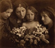 Julia Margaret Cameron - Wist ye not that your father and I sought thee sorrowing? circa 1865 - Photogravure