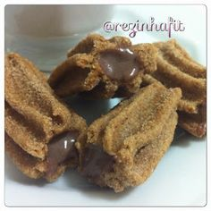 Rezinha Fit: Churros Integral Assado