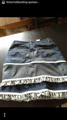 Van jeans naar rok