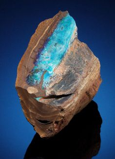 Minerals:Cabinet Specimens, BOULDER OPAL. Queensland, Australia. ...