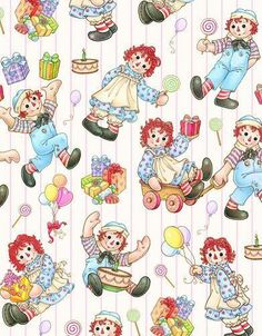 raggedy ann andy layout picture and