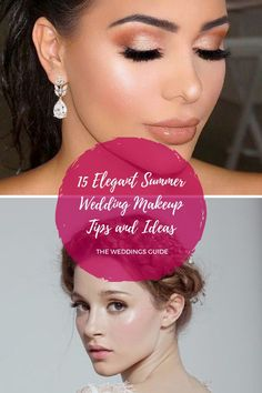 Elegant Summer Wedding Makeup Tips and Ideas #weddingmakeup Summer Wedding Makeup, Wedding Makeup Tips, Wedding Make Up, Dream Wedding, Makeup Inspiration, Makeup Ideas, Wedding Photos, Wedding Ideas, Got Married