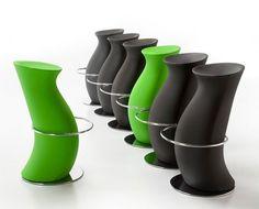 Wonderful Green Black Home Bar Furniture Ideas Stools Modern Design