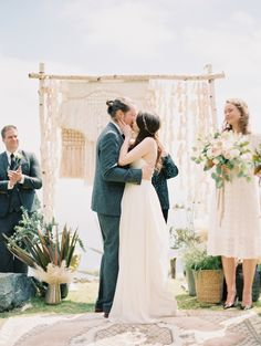 Venue: Big Sur Point 16 - http://www.stylemepretty.com/portfolio/big-sur-point-16 Wedding Dress: Camille Wynn - http://www.stylemepretty.com/portfolio/camille-wynn Groom's Attire: ASOS - http://www.stylemepretty.com/portfolio/asos   Read More on SMP: http://www.stylemepretty.com/2016/02/03/dreamy-wedding-on-the-big-sur-cliffs/