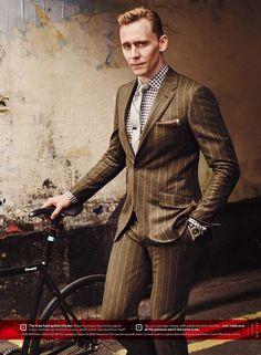 Tom Hiddleston para GQ USA Noviembre 2015