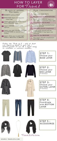 How to Layer Clothes