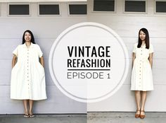 Even though this refashion DIY is like my 142nd, this is my very first video episode of Vintage Refashion! I am trying to make sewing my priority so there will be many more to come and I am trying to grow my YouTube channel, so I'd love for you to subscribe and tell your friends! You can subscribe here: http://youtube.com/sarahtyau