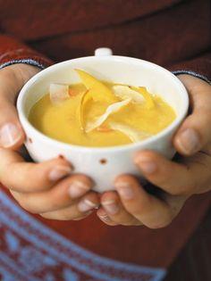 Rezept: Möhren-Mango-Suppe