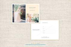 Wedding Photographer Gift Card by theFlyingMuse on Creative Market