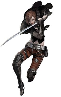 Female Assassin from GunZ 2: The Second Duel