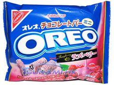 Oreo Raspberry Mini Chocolate Bars Japan Edition