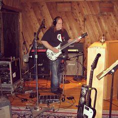 Warren Haynes in Studio