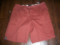 NWT ST. JOHN'S BAY ESSENTIAL CARGO CORTEZ RED SHORTS, SZ 40. EXCELLENT #StJohnsBay #Cargo