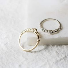 """One of my favorite customer stories is a bride who chose our mountain ring for her wedding. In her words: """"We are getting married in a small mountain town. I feel a real sense of peace and creative energy in the Appalachian mountains. Mountains draw me. For years I rock climbed a sport for which I feel an emotional and intellectual affinity. Climbing taught me that the most important thing is how you climb--with grace and discipline and humble acceptance of your limits--rather whether you…"""