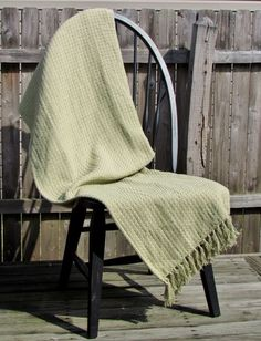 Soft Solid Sage Green Cotton Woven Throw Green Cotton Afghan Throw Free Shipping #VHC