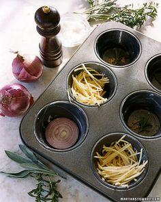 Potato n Onion Cakes