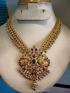 Beautiful Gold Antique Necklace Designs, Beautiful Gold Necklace Images, Gold Necklace Pictures.