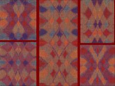 Four colour double weave   Weefschool De Hoeve