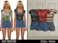 Outfit by ShakeProductions at TSR via Sims 4 Updates