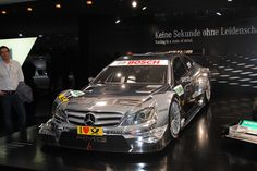 Almost like an illusion.  Mercedes-Benz 2012 DTM Challenger at the Frankfurt Motor Show IAA 2011