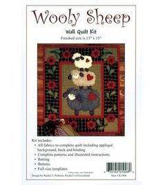 Sheep quilt kit