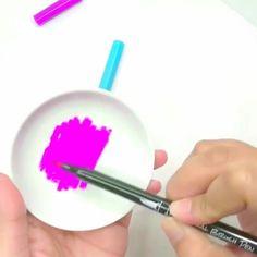 Brush Pen Art, Pens, Cheer, Vibrant, Friday, Lettering, Artwork, Instagram, Design