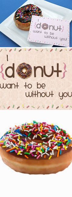 Donut Want to be WIthout You | Easy DIY Anniversary Gift Ideas for Him | Handmade Valentines Day Gifts for Him