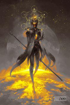 Panthéon - Anciens dieux : Ashok, le feu || Eistibus - Limited Edition Variant by PeteMohrbacher