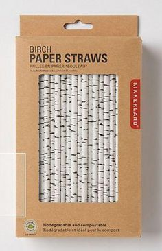 birch tree drink straws