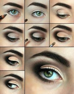 Smokey Eyes Eye-Makeup Tutorial.