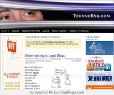 Technology for Lawyers, By Lawyers | TechnoEsq - Click to visit blog:  http://1.33x.us/Ix6hrv