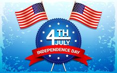 Independence day of july vector free vector